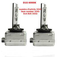 D1S 6000K 2 bulbs OEM Quality 6000K LIGHT BLUE