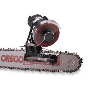oregon bar mount chainsaw sharpener instructions