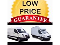 CHEAP BIG VAN & MANN24/7 Urgent short notice removals house,flat,office,commercial move& waste clear