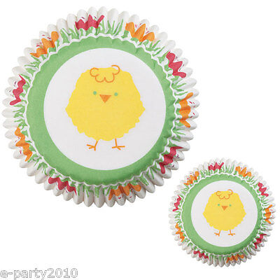 WILTON EASTER CHICK MINI BAKING CUPS (100)~ Cupcake Birthday Party Supplies