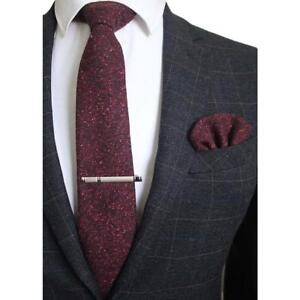Amazing Wool Ties with FREE Tie Clip and Handkerchief!