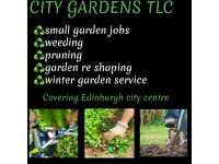 City gardens tlc- covering Edinburgh city centre only