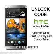 HTC One x Unlock Code