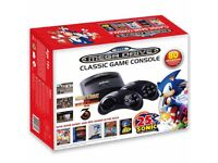 SEGA MEGADRIVE CLASSIC GAME CONSOLE SONIC 25th ANNIVERSARY EDITION WITH 80 GAMES
