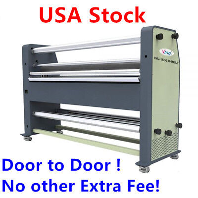 Usa Stock 110v 1600mm 63 High End Full-auto Wide Format Hot Laminator