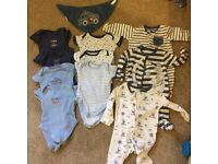 Baby boys first size bundle 9lbs