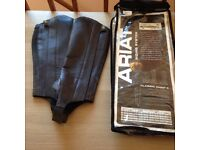 Ariat adult small leather chaps
