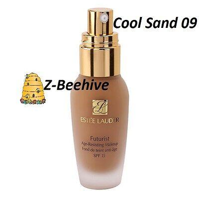 - Estee Lauder Futurist Age Resisting Makeup Foundation SPF15 Cool Sand 09 5C1 NIB