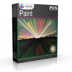 Paint Digital Painter Artist Art Draw Creation Creative Software Program Cd Rom Ebay