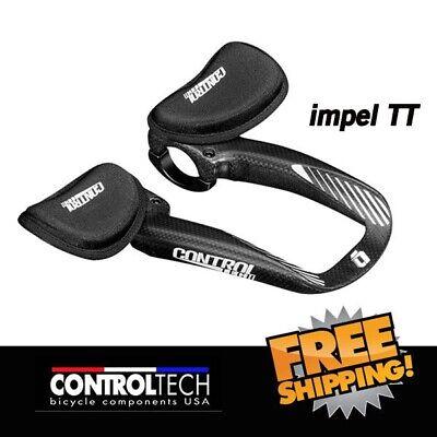 Controltech Falcon Clip-on Bar U-Bend Aluminum Aerobars For Time-trial//Triathlon