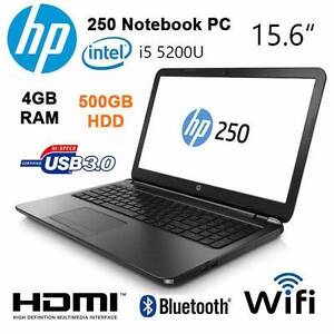 BRAND NEW !!! HP 250 Laptop ! With Warranty !! Fyshwick South Canberra Preview