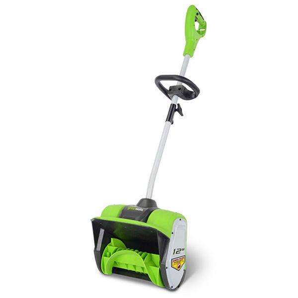 """Greenworks (12"""") 8-Amp Electric Snow Shovel"""