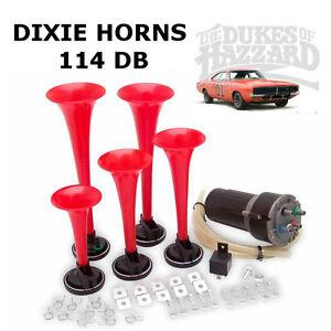 Car Bus Truck Boat 5 DIXIE Musical Car Air Horn Dukes of Hazzard General Lee 12V