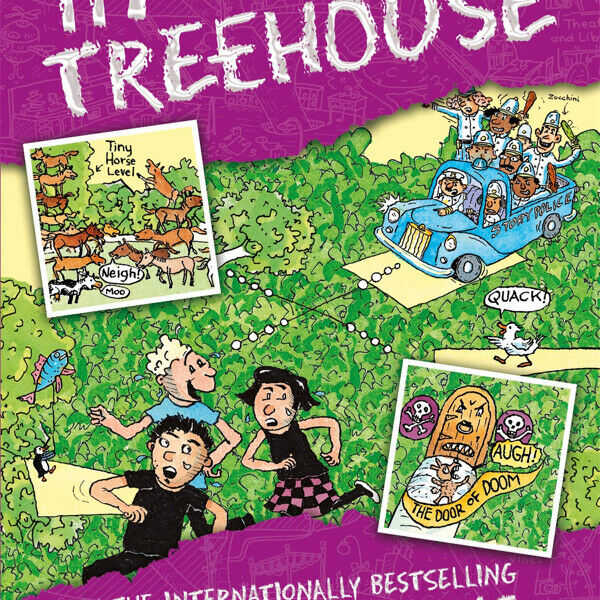 [SOLD] The 117-storey Treehouse Book  for sale !