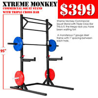 Commercial Power Rack $399, Cast Iron KB $1.29 and More Sales!