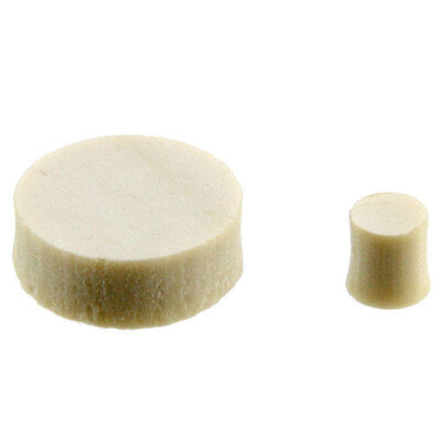 """NEW Vintage Clone Clay 1/4"""" Inlay Dots and 3/32"""" Side Dots for Guitar or Bass"""