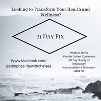21 Day FIX and Accountability Groups $164