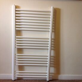 White heated towel rail for GCH