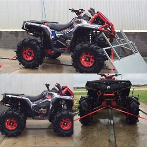2013 can am outlander 40 thousand invested 1108 big bore
