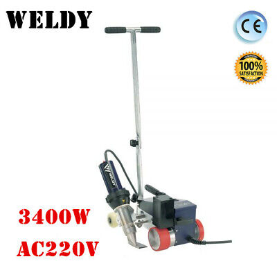 Roofer Rw3400 Automatic Roofing Hot Air Welder With 40mm Overlap Nozzle Ac220v