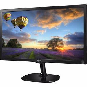 "LG 22MP57HQ-P_610 22"" Full HD 1080p IPS LED Monitor, 4-Screen Split, HDMI"