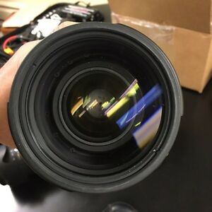 Nikon 70-200mm F2.8 VR II lens - With camoflage lenscoat!