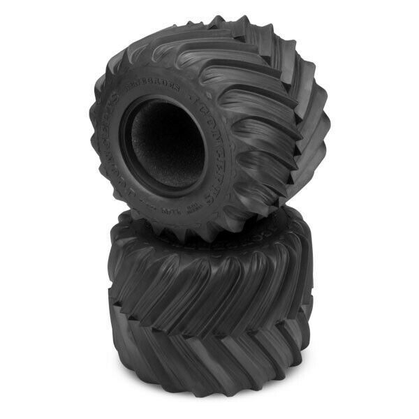 Photo JConcepts Renegades Blue Compound 2.6 Monster Truck Tires & Inserts (2)