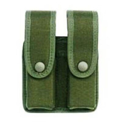 UNCLE MIKE'S Magazine Case Universal Double Divided OD Green USA 4836-1