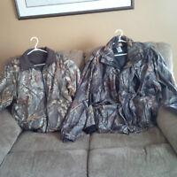 2 Coats in 1...Hunting Coats