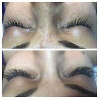 Eyebrow Microblading! And Mink Eyelash Extensions!