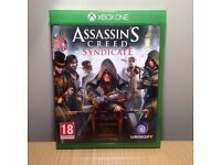 Assassins creed syndicate - Xbox One - Used but great condition