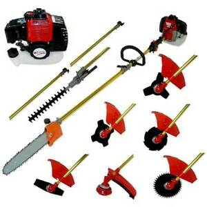 OZ Star 52cc 10 in 1 Multi-Function Brush cutter Hedge Trimmer Fairfield Fairfield Area Preview