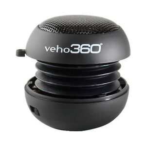 Veho 360 Rechargeable Pop Up Speaker - For iPod & MP3 - Brand New Retail Pack