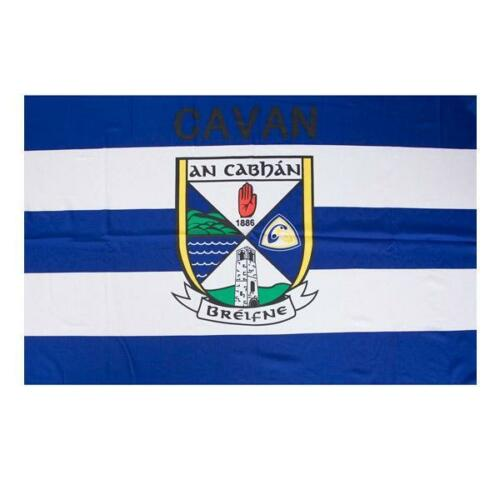 Cavan GAA Official 5 x 3 FT Flag - Large Crested Irish Gaelic Football Hurling