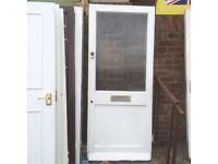 Door, external front door, 830 X 1960, good con £15.