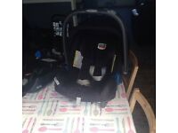 Britax baby's car seat with base
