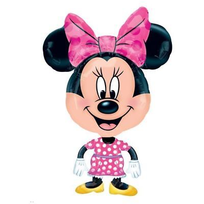 76.2cm Disney Minnie Mouse Bow-Tique Toons Foil Airwalker Balloon Buddy](Classic Minnie Mouse Party Supplies)
