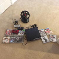 Ps3/ 3 controllers/ 10 games ( all mint condition)