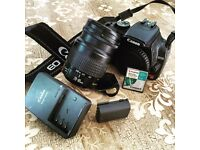 Canon EOS 350 Rebel XT with 28-80mm lens
