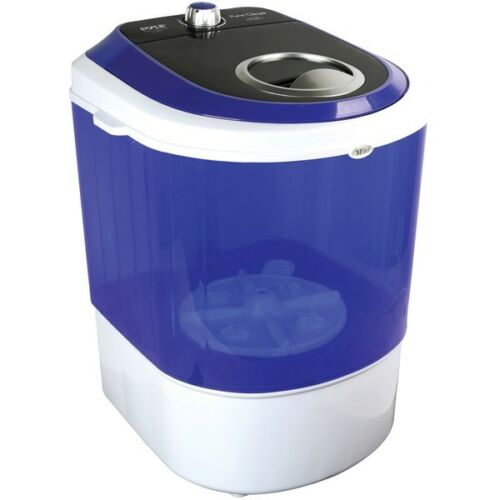 Pyle Compact & Portable Washing Machine with Mini Laundry Cl