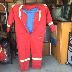 FR winter coveralls and parka's.
