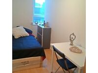 FULLY FURNISHED SINGLE ROOM IN A NICE PROPERTY! NICE EUROPEAN FLATMATES