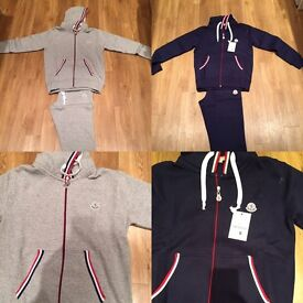 Adults Moncler Tracksuit's for sale