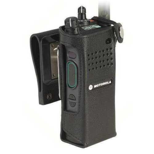 NEW! - PMLN5875 - MOTOROLA APX RADIO SWIVEL LEATHER CASE