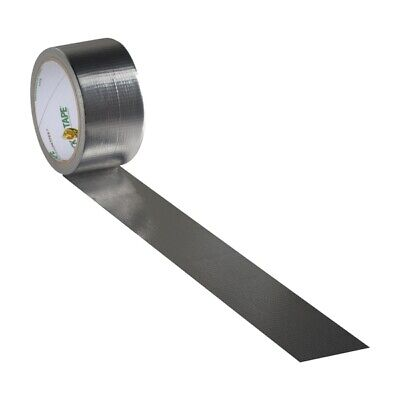 Silver Coin Duck Brand Duct Tape 1.88 X 15 Yard Roll Chrome