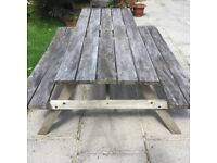 Picnic bench table Iroka very heavy