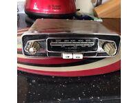 Car radio vintage 1950s