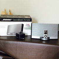 Sound Dock portable et Ipod 8gig