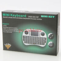 Clavier Souris Sans Fil Wireless Mouse Keyboard for Smart TV Box