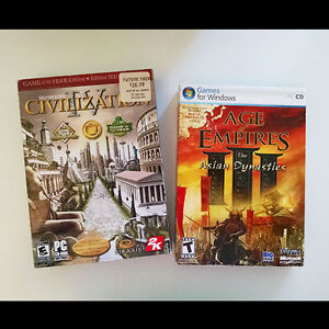 PC Games: Civilization IV - Age of Empires III